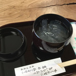 茶房 葛味庵 - 葛切り