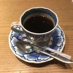 のどぐろ料理と北陸の地酒 せん - ドリンク写真:コーヒー(食べログクーポン利用)