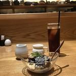 旬味千菜 蓮こん - デザートセット
