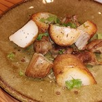AOZORA - 砂肝コンフィとじゃが芋のソテー