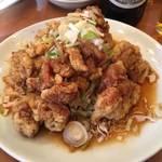 慶和楼 - 油淋鸡球(揚げ鶏肉の特製ソースがけ)