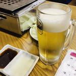 大門焼肉店 - ドリンク写真:☆焼肉には生ビール♪