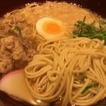浪花そば - 新大阪そば(肉入り)の麺