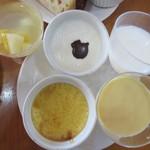 霧島たまご牧場 - ゼリー、ミルクプリン、杏仁豆腐、チーズプリン、ババロア