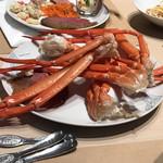99643366 - 2皿目 ボイルされた蟹 ※期間限定