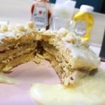 99643906 - 自家製マカダミアナッツソースパンケーキ