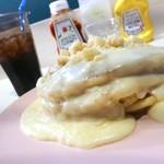 99643917 - 自家製マカダミアナッツソースパンケーキ
