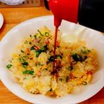 琉華 - 薄味です、餃子のタレを。
