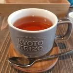 スイーツ カフェ キョウト ケイゾー - カップもオリジナルで可愛い