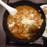 CoCo壱番屋 - 料理写真:2019年1月 カレー肉そば+から揚げ 907+291円