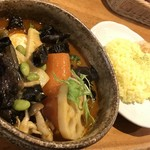 カレー気分 - チキン野菜(1,120円)