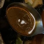 カレー気分 - スープはこんな感じ