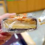 コーヒーサロンタカセ - アーモンドチュイル3個400円