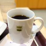 コーヒーサロンタカセ - ベーコンエッグモーニング420円、ホットコーヒー