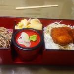 割烹食堂 水車 - 駒ケ根セット1200円