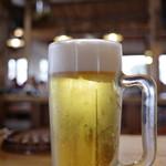 活魚 漁ま - 生ビール!