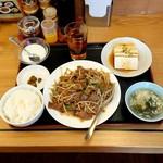 台湾料理 味源 - ニラレバーランチ