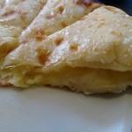 99656535 - チーズナンの断面