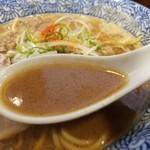 99659780 - 煮干し味噌スープ