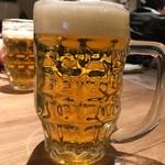 Bistro Ergo 溝の口 - 生ビール(サントリープレミアムモルツ)