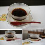 味みしま - コーヒーとデザート。昼懐石2500円。味みしま(愛知県豊田市)昼懐石