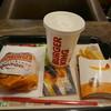 バーガーキング - 料理写真:タルタルチキンセット490円
