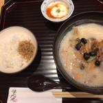 99661535 - 黒豆のかき揚げ定食。
