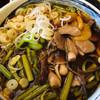 そば蔵 - 料理写真:きのこ山菜そば