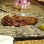 柳家 - 鹿肉サーロイン