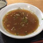 御清水庵 - 最後の〆は蕎麦湯で