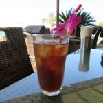 パームビーチ - ランチセットのウーロン茶