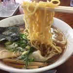 支那そば一麺 - 醤油ワンタン麺