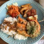 レインボーカフェ マライカバザール - 料理写真: