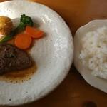 レストラン ラプレ・ミディ - 料理写真:ステーキランチ 1,620円