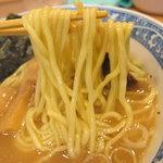 中華そば 青葉 - 麺のアップ
