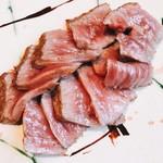 ピヴォーテ - ロース肉のスライス