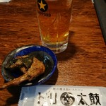 町の焼き鳥レストラン トリ太鼓 - 飲み放題 お通し300円税抜