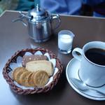喫茶 吉野 - ブレンドとクッキー