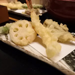 旬味千菜 蓮こん - 天ぷら上品なタイプ♡蓮根の天ぷらの蓮根分厚くて美味しい