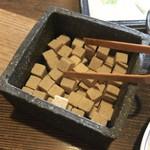 煎売喫茶 治郎兵衛 - ドリンク写真:小さめのシュガー
