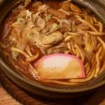 横浜なかや - 大粒の牡蠣入り味噌煮込みうどん 1,400円 牡蠣のエキスがお汁に染み出し激ウマー!!