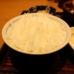 土鍋炊きごはん なかよし - お代わりできるご飯