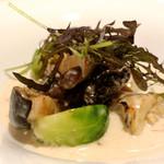 Judomarushe - 牡蠣ときのこのフリカッセ
