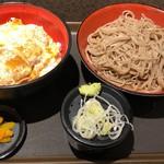 名代 富士そば - かつ丼セット720円