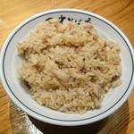 田中そば店 - 肉めし
