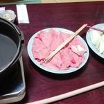 盃花羅亭 - すき焼き〜(>ω<)