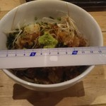 99681023 - なめろう丼 茶碗の大きさ直径13cmで1166円