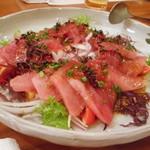うすけぼー - カツオのカルパッチョ風サラダ