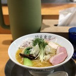 竹末東京Premium - 鶏ホタテそば