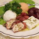 スパルタ - 前菜盛り合わせ